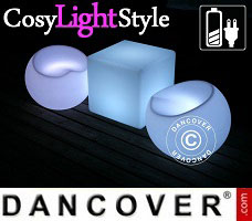 CosyLightStyle LED lys 1 bord + 2 stole