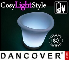 CosyLightStyle LED lys 5m, 20 LED, multifunktion, varm hvid