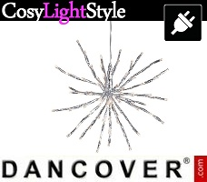 CosyLightStyle LED lys blinkende, 10m, Hvid